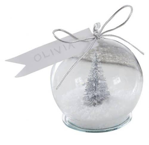 kerstversiering-plaatskaarthouders-met-kaartjes-snowglobe-silver-glitter-2