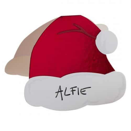 kerstversiering-plaatskaartjes-santa-hat-silly-santa