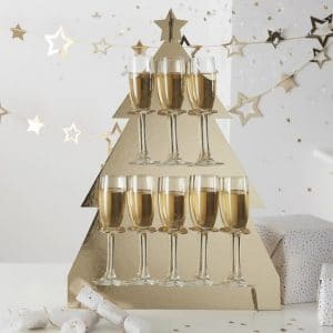 kerstversiering-prosecco-wall-christmas-tree-gold-glitter