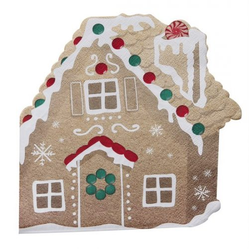 kerstversiering-servetten-gingerbread-house-let-it-snow