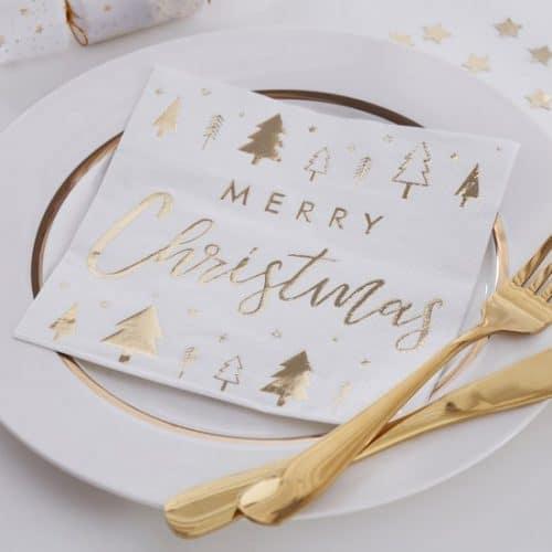 kerstversiering-servetten-merry-christmas-gold-glitter-2