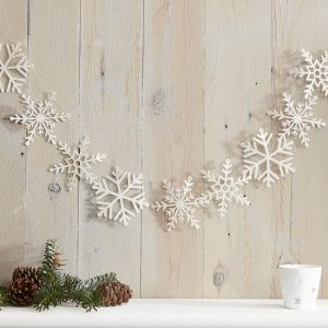 kerstversiering-slinger-white-glitter-snowflake-let-it-snow-2
