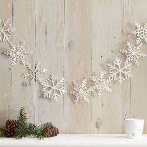 kerstversiering-slinger-white-glitter-snowflake-let-it-snow-2