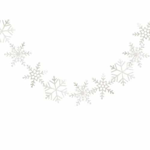kerstversiering-slinger-white-glitter-snowflake-let-it-snow