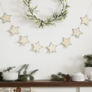 kerstversiering-slinger-wooden-glitter-star-let-it-snow-2