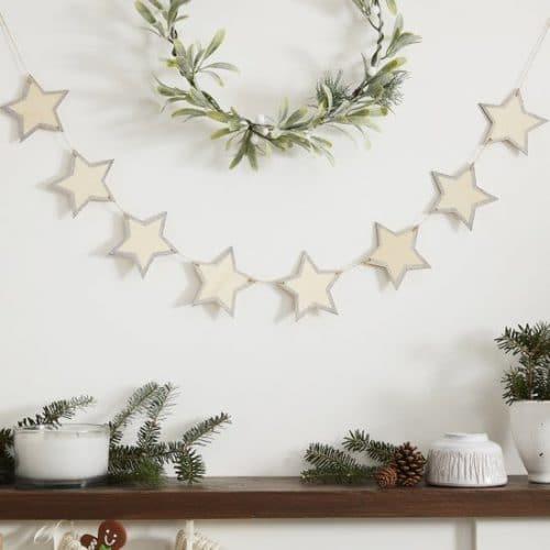 kerstversiering-slinger-wooden-glitter-star-let-it-snow-2