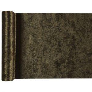 kerstversiering-velvet-tafelloper-groen (1)