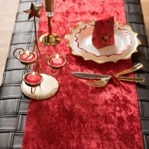 kerstversiering-velvet-tafelloper-rood (1)