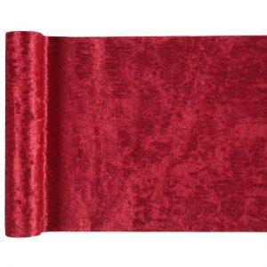 kerstversiering-velvet-tafelloper-rood (2)
