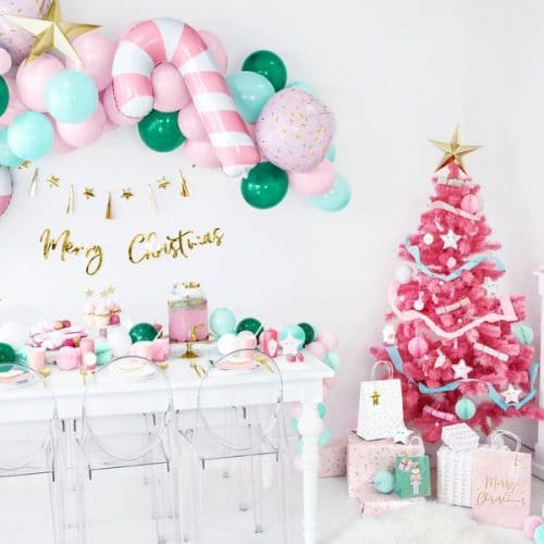 kerstversiering-folieballon-candy-cane-pink-christmas-3