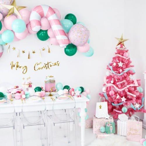 kerstversiering-folieballon-sprinkle-ball-pink-christmas-2