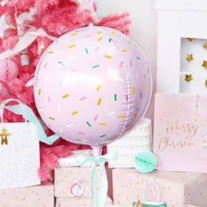 kerstversiering-folieballon-sprinkle-ball-pink-christmas-3