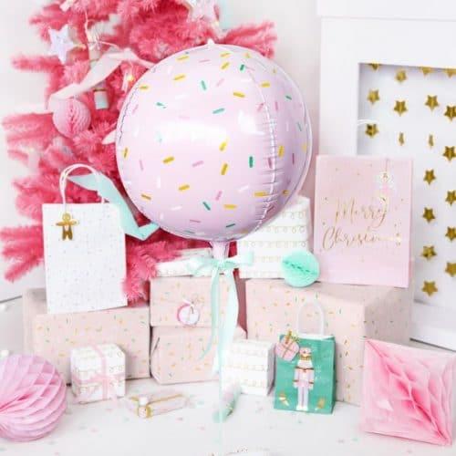 kerstversiering-folieballon-sprinkle-ball-pink-christmas-4