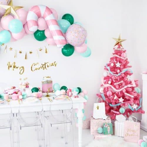 kerstversiering-inpakpapier-pink-christmas-2
