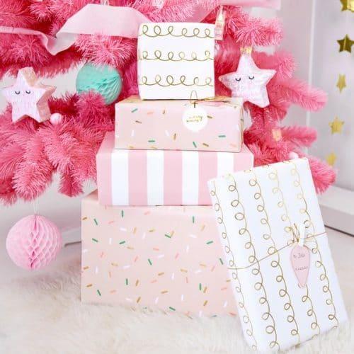 kerstversiering-inpakpapier-pink-christmas-6