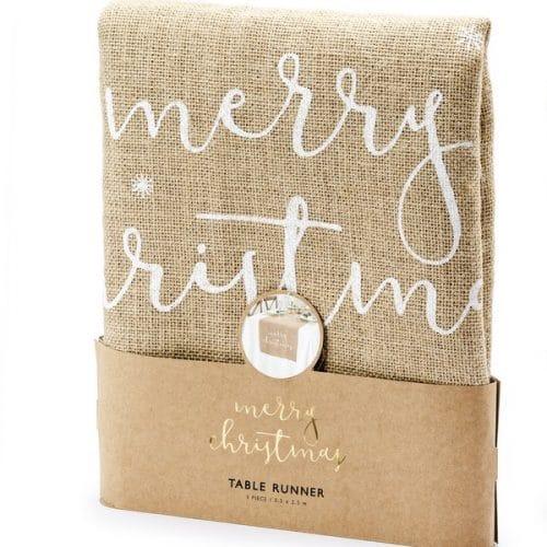 kerstversiering-juten-tafelloper-merry-christmas-natural-christmas