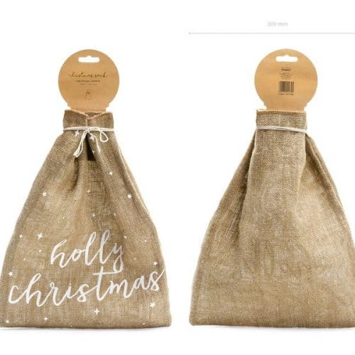 kerstversiering-juten-zak-holly-christmas-natural-christmas
