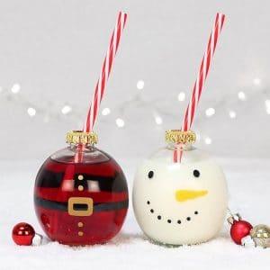 kerstversiering-kerstbal-drinkglazen-snowman-santa