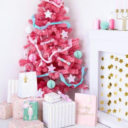 kerstversiering-papieren-tasjes-pink-christmas-2