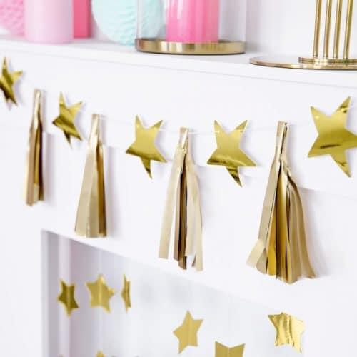 kerstversiering-slinger-golden-stars-pink-christmas-5
