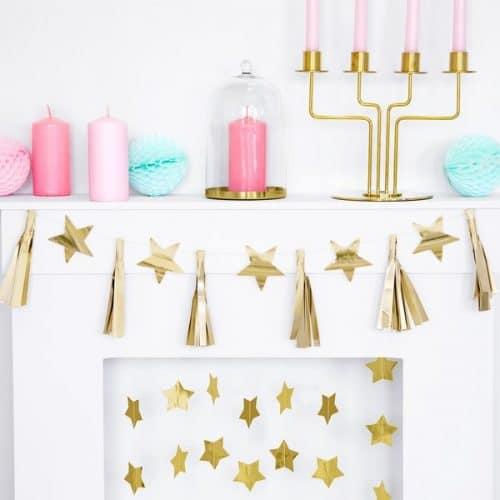 kerstversiering-slinger-golden-stars-pink-christmas-6