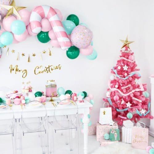 kerstversiering-slinger-merry-christmas-pink-christmas-5