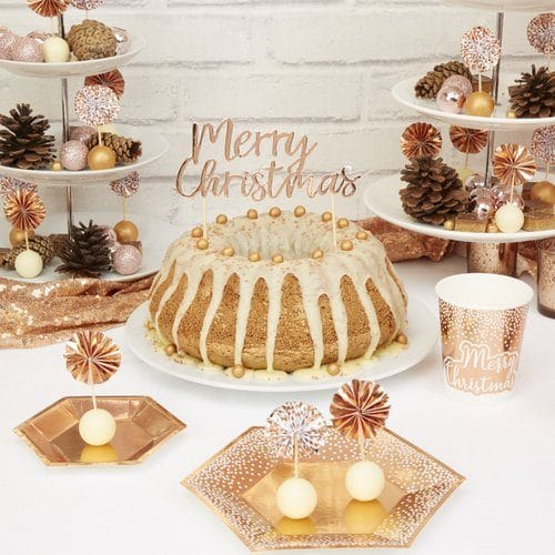 kerstversiering-cake-topper-merry-christmas-rose-gold-christmas