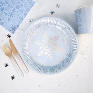 kerstversiering-bordjes-frozen-christmas