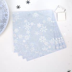 kerstversiering-servetten-frozen-christmas