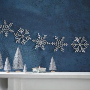 kerstversiering-slinger-silver-glitter-snowflakes-christmas-night