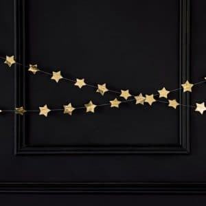 kerstversiering-slinger-stars-goud