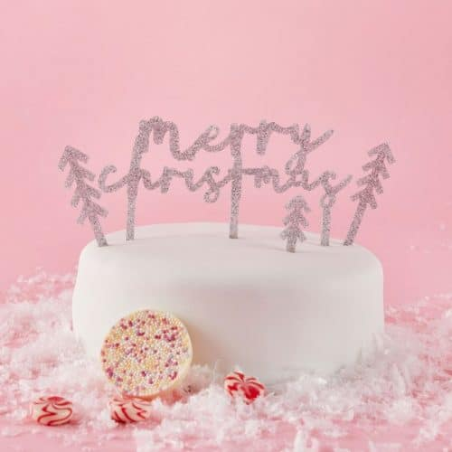 kerstversiering-cake-topper-merry-christmas-pink-christmas-2