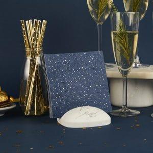 kerstversiering-gebaksservetten-navy-blue-gold