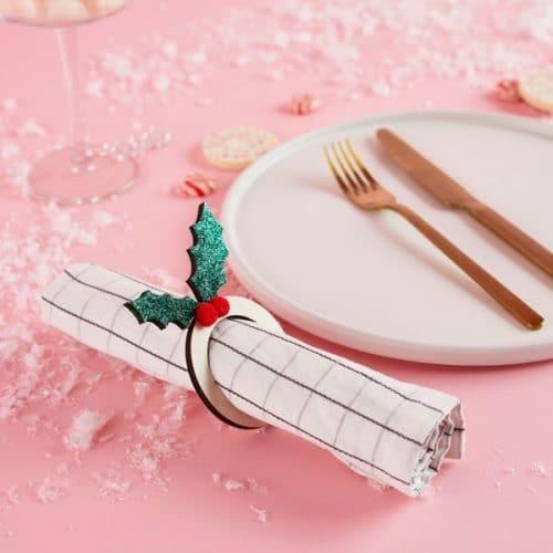 kerstversiering-servetringen-pink-christmas