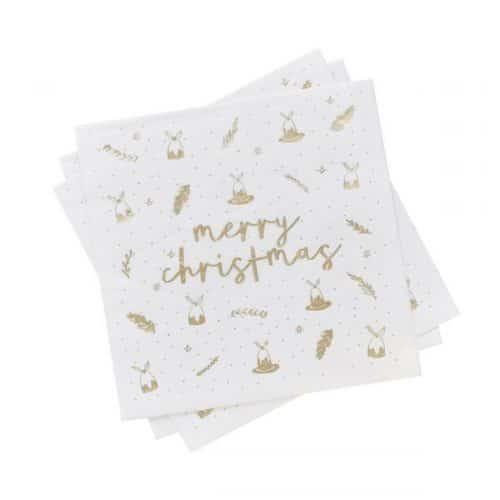 kerstversiering-servetten-merry-christmas-gold-white-3