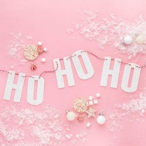 kerstversiering-slinger-hohoho-pink-christmas