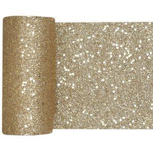 kerstversiering-tafelloper-gold-glitter-small