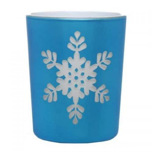 kerstdecoratie-waxinelichthouder-blauw