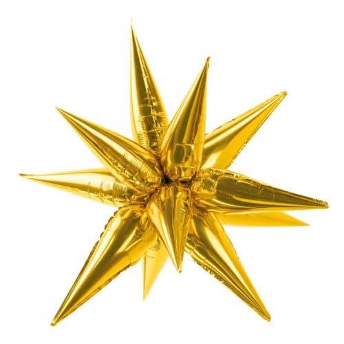 kerstversiering-folieballon-3d-golden-star-large