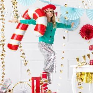 kerstversiering-folieballon-candy-cane-red-gold-2