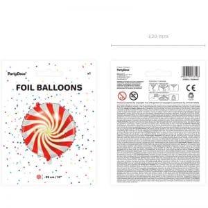 kerstversiering-folieballon-candy-red-gold-3