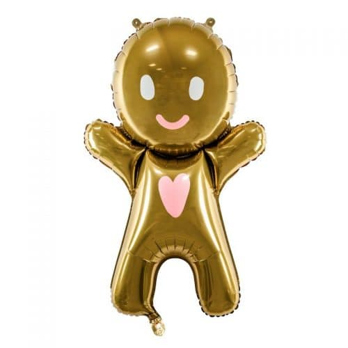 kerstversiering-folieballon-gingerbread-man