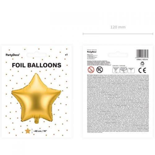 kerstversiering-folieballon-golden-star-48cm-3
