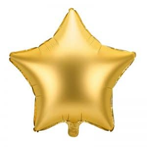 kerstversiering-folieballon-golden-star-48cm