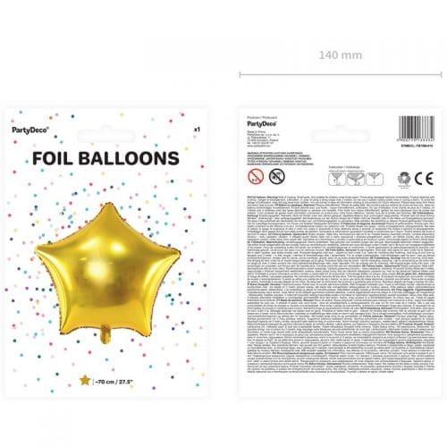 kerstversiering-folieballon-golden-star-70cm-2