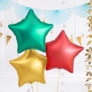kerstversiering-folieballon-green-star-48cm-2
