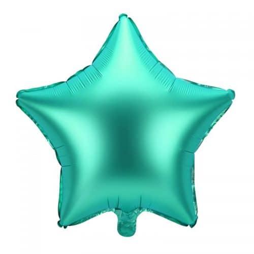 kerstversiering-folieballon-green-star-48cm