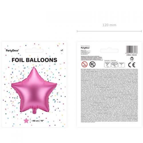 kerstversiering-folieballon-pink-star-48cm-3