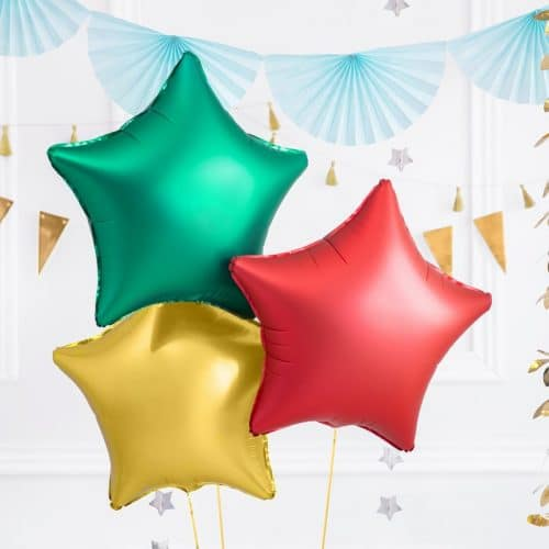kerstversiering-folieballon-red-star-48cm-2