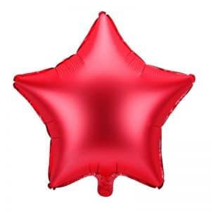 kerstversiering-folieballon-red-star-48cm